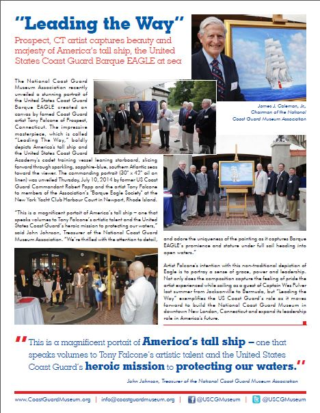 Coast Guard Academy Newsletter